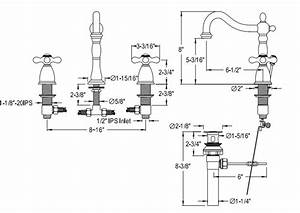 Installation Instructions For Bilbao Double Handle Faucet