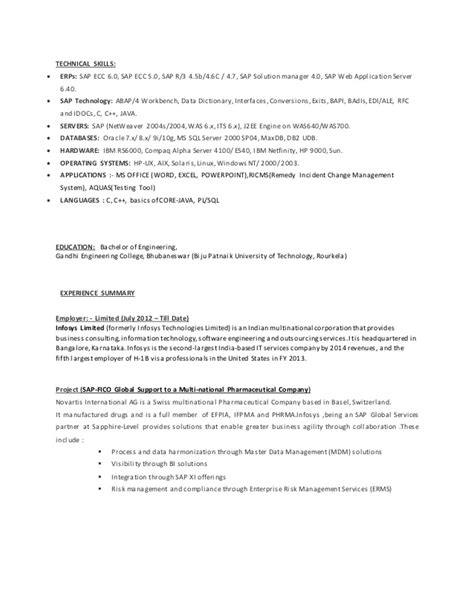 100 sle resume india 100 images 100 resume sle