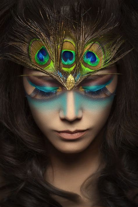 17 Best Ideas About Peacock Makeup On Pinterest Peacock