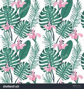 Beautiful Seamless Floral Summer Pattern Background Stock ...