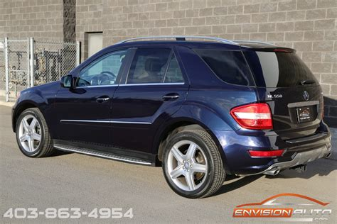 Request a dealer quote or view used cars at msn autos. 2010 Mercedes-Benz ML550 4Matic AMG Pkg | Envision Auto - Calgary Highline Luxury Sports Cars ...
