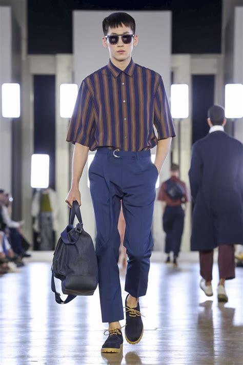 Cerruti 1881 Fashion Show Menswear Spring Summer 2018 Collection in Paris   Korean Men Fashion ...