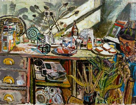 bratby kitchen sink david in the kitchen with thistle bratby 4904