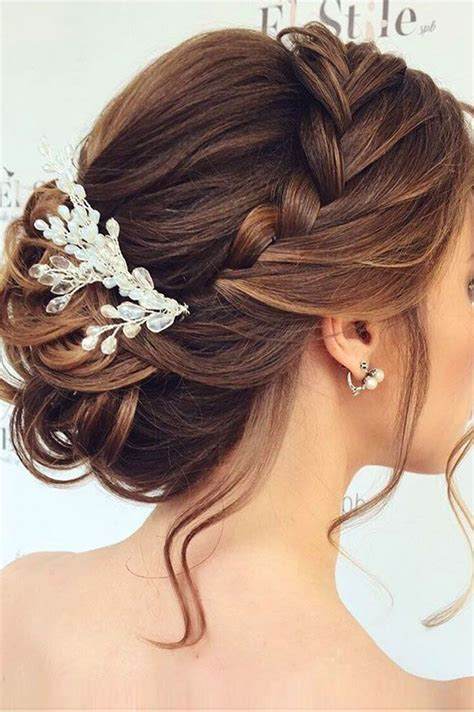 mother   bride hairstyles braids hair bride