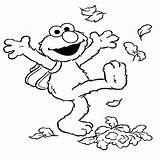Elmo Coloring Pages Potty Kicking sketch template