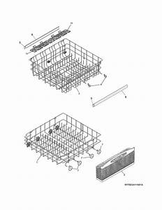 Frigidaire Model Lfbd2409lf2b Dishwasher Genuine Parts