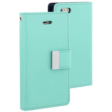 iphone 5 wallet for goospery rich diary wallet mint for apple