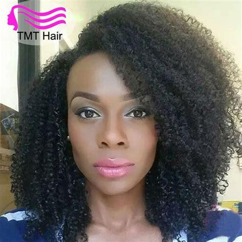 malaysian kinky curly hair 3 bundles curly hair weave afro