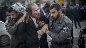Hundreds of ultra-Orthodox Jews protest arrest of draft ...