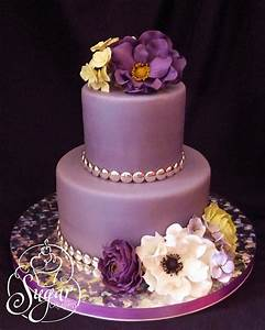 purple birthday cake | Flickr - Photo Sharing!