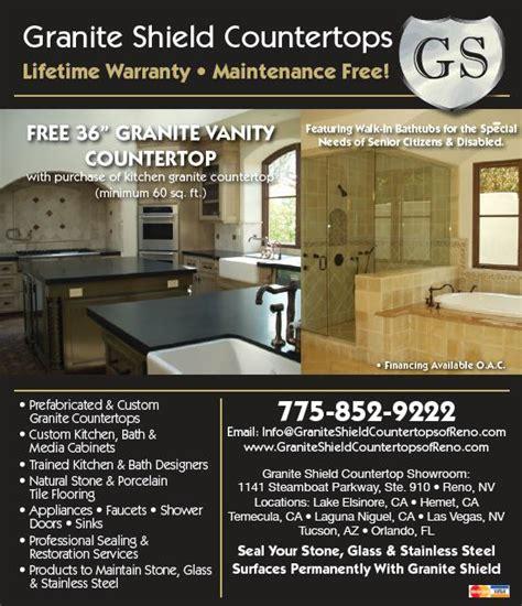 granite shield countertops reno store ad