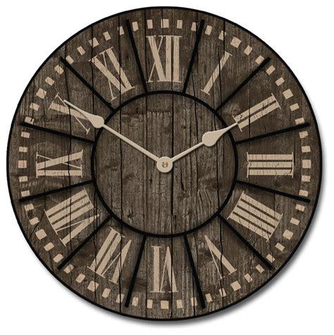 40580 farmhouse wall clock san antonio wall clock reviews houzz