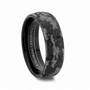nighthawk 6mm 8mm our popular camouflage design wedding With digital wedding ring