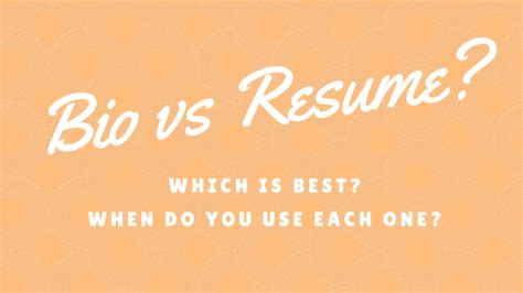Bio Vs Resume by Bio Templates How To Write A Bio Free Biography Exles