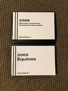 2005 Chevrolet Equinox Owners Manual Guide Book