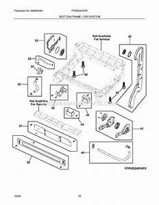 Frigidaire Dishwasher Assembly Diagram