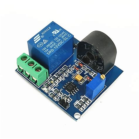 Relay Module Overcurrent Protection Sensor