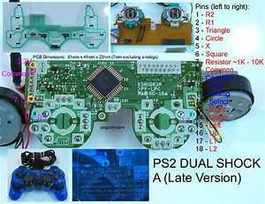 Ps2 Board Diagram