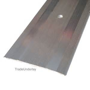 Extra Wide Carpet Cover Strip buy carpet cover extra wide silver door trim 60mm x 2 7mtr