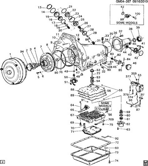 Chevy 700r4 Transmission Wiring Diagram by Chevy 700r4 Transmission Parts Diagram Car Interior Design