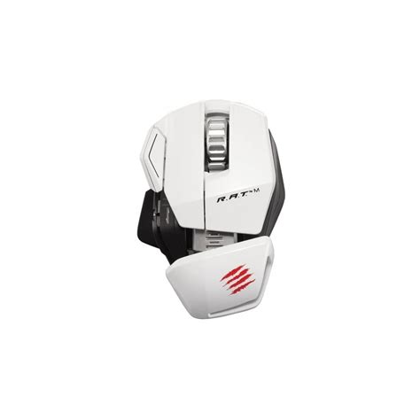 Mad Catz Rat M Wireless Mobile Gaming Mouse White