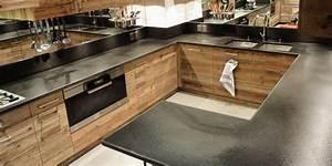 Plan Travail Pierre : plan de travail cuisine en pierre sofag ~ Nature-et-papiers.com Idées de Décoration