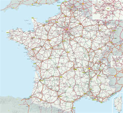 carte routiere france carte