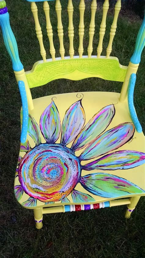 best 25 painted chairs ideas on painted