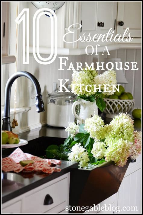 elements   farmhouse kitchen stonegable