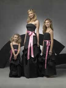 black bridesmaid dresses black and pink bridesmaid dresseswedwebtalks wedwebtalks