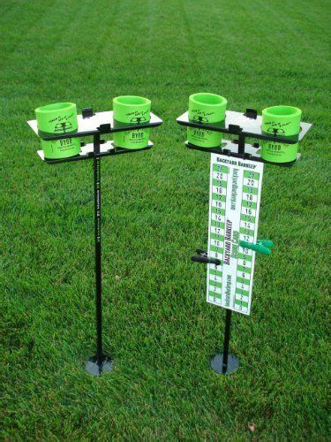 Backyard Game Scoreboard And Drink Holders  Porch And
