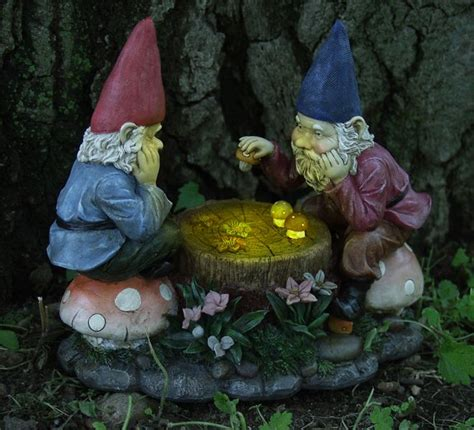 solar gnomes checkers only 39 99 at garden
