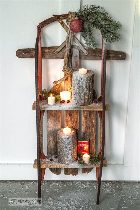 Weihnachtsdekoration Schlitten by 33 Besten Schlitten Deko Bilder Auf Deko
