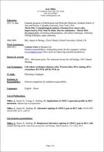 of preparing resume preparing a cv resume cv template exles