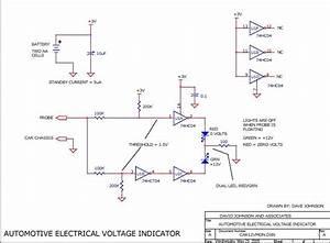 12v Automotive Electrical Voltage Indicator