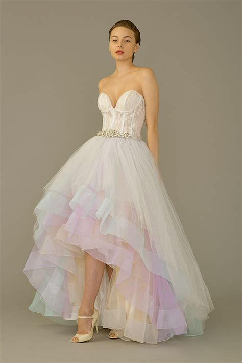 Hi Low Gown By The Louvre Bridal The Wedding Dress