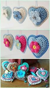 20 Amigurumi Crochet 3d Heart Free Patterns Perfect