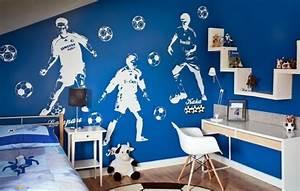 Fussball Kinderzimmer Ideen : jugendzimmer gestalten 54 coole ideen f r die w nde ~ Markanthonyermac.com Haus und Dekorationen