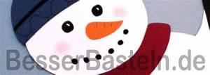 Basteln Winter Kinder : schneemann aus tonpapier ~ Frokenaadalensverden.com Haus und Dekorationen