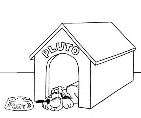niche  chien batiments  architecture coloriages  imprimer