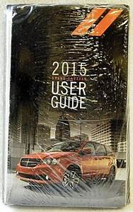 2015 Dodge Grand Caravan User Guide Owners Manual Case