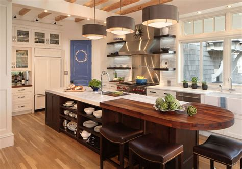 island kitchen contractors 70 spectacular custom kitchen island ideas home 7161