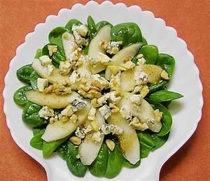 Spinat Als Salat : spinat salat mit birne und blauschimmelk se rezept mit bild ~ Orissabook.com Haus und Dekorationen