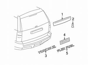 Chevrolet Suburban 1500 Liftgate Finish Panel  Gmc  W