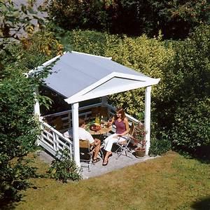 Gartenlaube gartenhaus selbstde for Französischer balkon mit garten teehaus pavillon