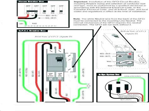 50 Gfci Breaker Wiring Diagram by 50 Square D Gfci Breaker Wiring Diagram Wiring Diagram