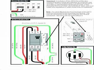50 Amp Gfci Breaker Wiring Diagram