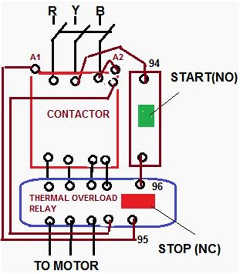 how to wire a compressor with overload contactor google