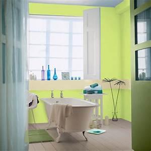 association couleur avec le vert dans salon chambre cuisine With wonderful quelle couleur avec du gris clair 15 peinture