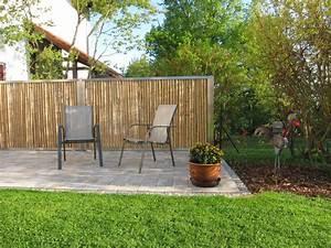 terrasse sichtschutz bambus innenr ume und m bel ideen With sichtschutz terrasse bambus